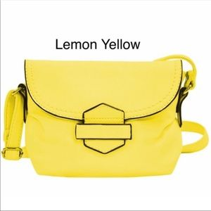 Handbags - Gorgeous yellow mini handbag. Soft leather🎉